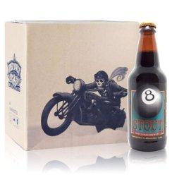 美国进口 迷失海岸 (LOST COAST) 黑八世涛啤酒 355ml*6瓶