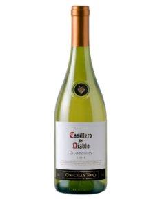 智利干露红魔鬼夏多内干白葡萄酒