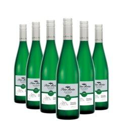 彼得美德 德国进口铂金系列琼瑶浆白葡萄酒 半甜型白葡萄酒 QBA级 德国白葡萄酒 六瓶装