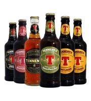 英国进口啤酒Tennent's替牌啤酒330ml*6瓶 英国啤酒精酿啤酒 5种口味随机发6瓶