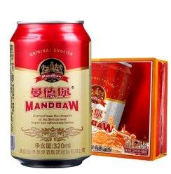 《【苏宁自营】曼德堡啤酒 小红罐 320ml*24听 21.92元(双重优惠)》