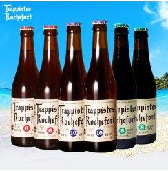 [万多吉酒类专营店]比利时进口罗斯福6号8号10号啤酒组合 进口修道院啤酒 330ml*6瓶