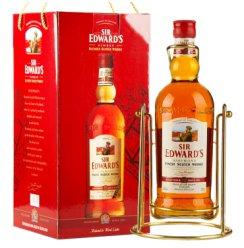 爱德华爵士(Sir Edward's) 洋酒 威士忌 2L 摇架 礼盒装