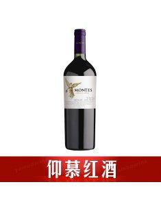 智利蒙特斯经典梅洛干红葡萄酒