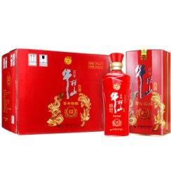 牛栏山 白酒 浓香型 百年特酿12 龙凤呈祥 百年红铁盒 42度 500ml*6瓶 整箱装