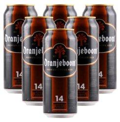 德国原瓶进口Oranjeboom橙色炸弹强烈性小麦