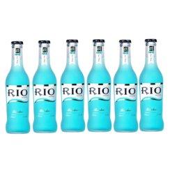 锐澳(RIO)洋酒 预调 鸡尾酒 果酒 蓝玫瑰味 275ml*6瓶