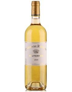 法国拉菲丽丝庄园副牌甜白葡萄酒