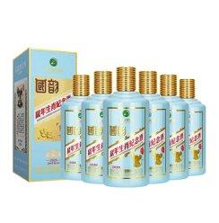 贵州茅台集团习酒国韵酱香型白酒53度鼠年生肖纪念酒整箱装500ml*6(箱内含三个礼品袋)