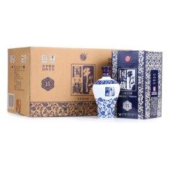 牛栏山 白酒 清香型 国藏十五 老青花 二锅头 42度 450ml*6瓶 整箱装(内含三个礼品袋)