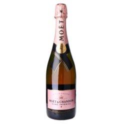 酩悦(Moet & Chandon )法国进口葡萄酒 粉红香槟 750ml