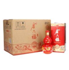 金六福 六福呈祥 50度500ml*6瓶整箱装高度白酒(产品升级 纯粮酿造)
