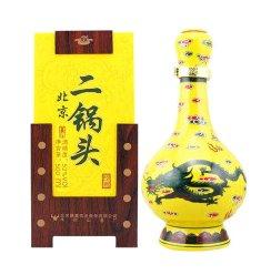 牛栏山经典二锅头 52度 500ml 清香型白酒