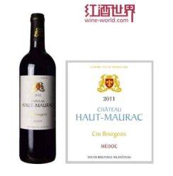 【红酒世界】 波尔多中级庄 2011年上莫拉克酒庄红葡萄酒