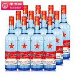 红星二锅头 绵柔八年陈酿 53度 750ml 清香型白酒 12瓶箱装