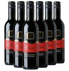 澳洲凯富酒庄飞翔西拉干红葡萄酒 原瓶进口六支整箱6瓶装红酒375ml