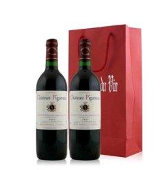 法国 碧咖浓酒庄特级圣爱美浓干红葡萄酒双支礼袋装