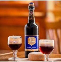 Chimay/智美系列修道院啤酒 比利时精酿 进口啤酒【精酿啤酒体验馆】 智美蓝帽750ml