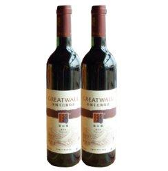 长城出口型解百纳干红葡萄酒750ml(2瓶装).