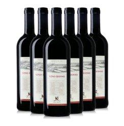 意大利原瓶进口红酒 杜提里红葡萄酒 750ml×6支装