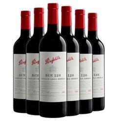 【奔富酒庄】Penfolds奔富酒庄 奔富bin2 8 389 407系列 进口红酒 bin128 六支750ml*6
