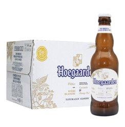 比利时进口啤酒 Hoegaarden 福佳白啤酒 330ml*24瓶 整箱装