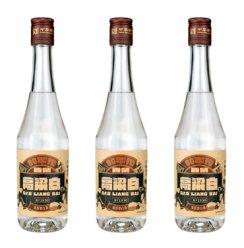 太原酒厂晋泉高粱白酒 45度375ml*3瓶 高粱酒 粮食酒 清香型国产白酒