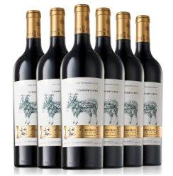 新疆芳香庄园 有机红酒 尕亚酿酒师窖藏干红葡萄酒 750ml*6瓶 整箱装