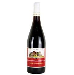 博莱海村庄级博若莱新酒干红葡萄酒(法国原装进口 瓶...