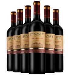王朝(Dynasty)红酒橡木桶94赤霞珠干红葡萄酒750ml*6瓶国产整箱