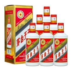茅台 王子酒 53度 酱香型 500ml 白酒 6瓶装(大字版和小字版随机发货)