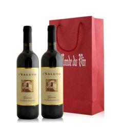 意大利 赛鹿意大利干红葡萄酒双支礼袋装