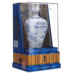 白酒 孔府家酒儒雅香青花瓷十八年原浆46度500ml 白酒