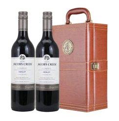 卡斯梅洛干红 Jacob·s Creek Merlot 红酒 礼盒