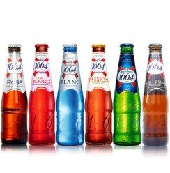 1664啤酒 法国克伦堡啤酒凯旋1664小麦啤酒 多口味混合随机6瓶装