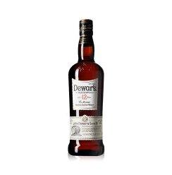 1919酒类直供Dewar's帝王12年调配苏格兰威士忌 700ml(新旧包装随机发货)