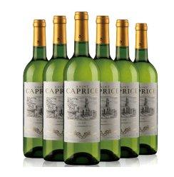 法国 原瓶原装进口 圣卡佩斯干白葡萄酒 整箱6瓶