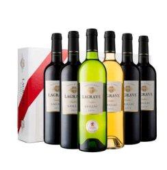 法国 拉格拉夫葡萄酒礼盒(酒庄直采) 750ml×6瓶