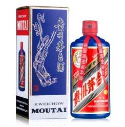 贵州茅台酒 53度 茅台 颜色茅台 酱香型 (蓝) 蓝茅 500ml*1瓶 单瓶装