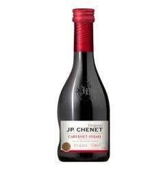 法国原瓶进口 香奈(J.P.CHENET) 经典系列赤霞珠西拉半干型红葡萄酒187ML单支