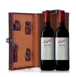 奔富407红酒 澳洲原装进口 奔富BIN407 红葡萄酒 双皮盒750ml*2